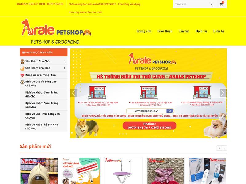 arale pet shop