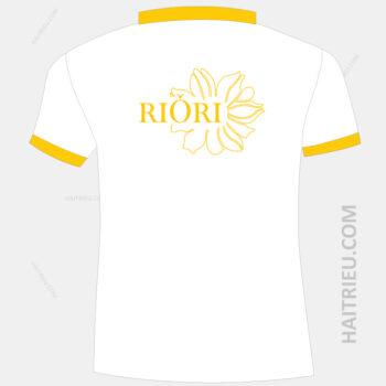 logo my pham riori duoc in mat sau