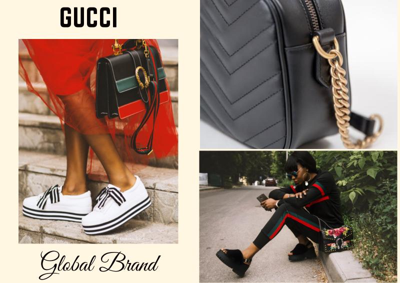 Global brand gucci