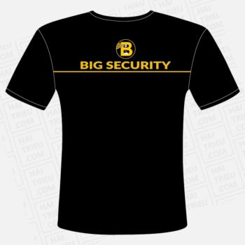 ao big security mat truoc
