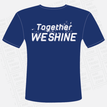 ao dong phuc lop 12a together we shine