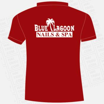 ao nhan vien blue lagoon nails & spa