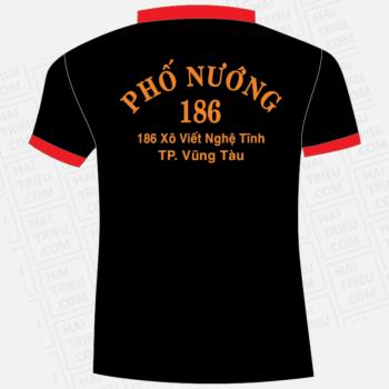 ao nhan vien quan an pho nuong 186 ba ria vung tau