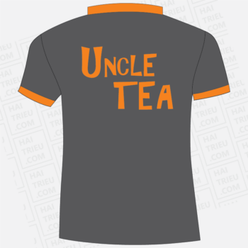 ao nhan vien quan tra sua uncle tea