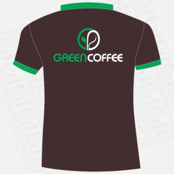 ao thun nhan vien quan green coffee