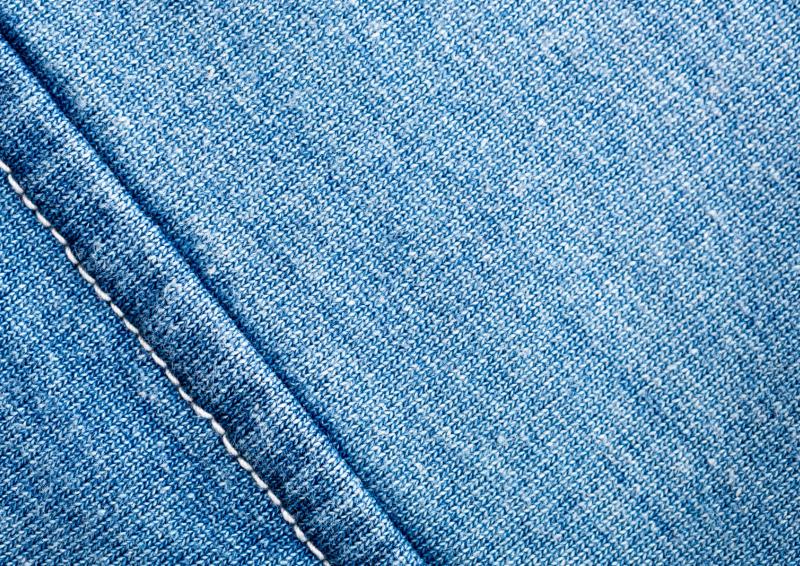 Vai jeans thuong duoc su dung trong may mac
