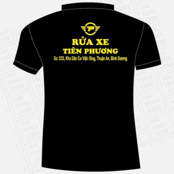 ao thun nhan vien rua xe tien phuong binh duong