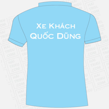 ao thun nhan vien xe khach quoc dung tay ninh