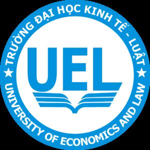 Logo DH Kinh Te Luat UEL