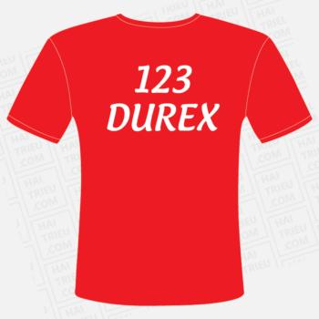 ao thun 123 durex you'll never walk alone