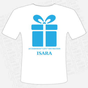 ao thun isara accessories gift decoration