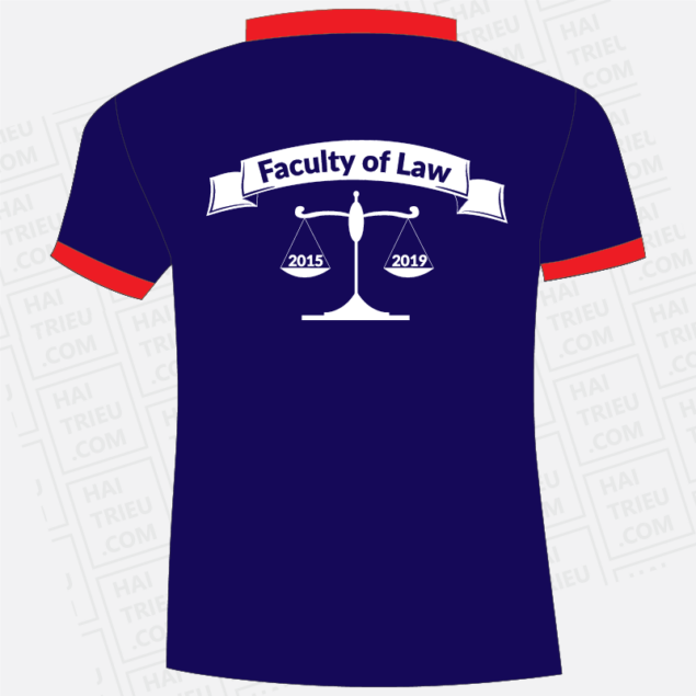 ao thun lop 15dlk08 hutech uni faculty of law