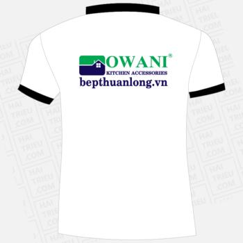 ao thun nhan vien bep thuan long owani kitchen accessories