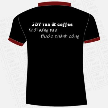 ao thun nhan vien quan joy tea & coffee