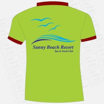 ao thun nhan vien sunny beach resort spa & yacht club