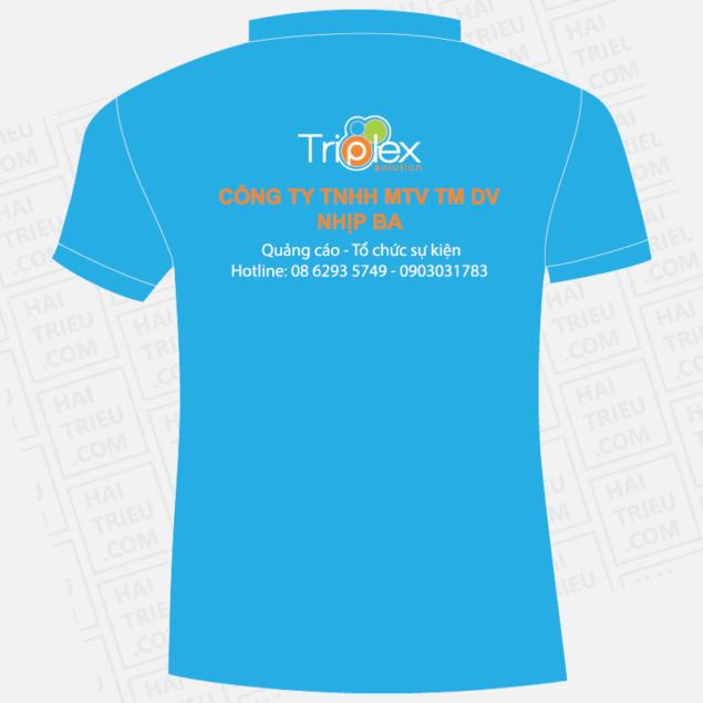 ao thun nhan vien triplex solution
