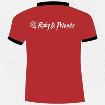ao thun ruby & friends