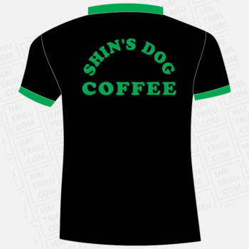 ao thun shin's dog coffee