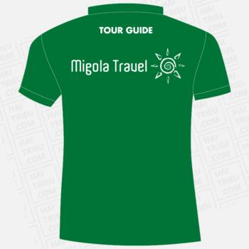 ao thun tour guide migola travel