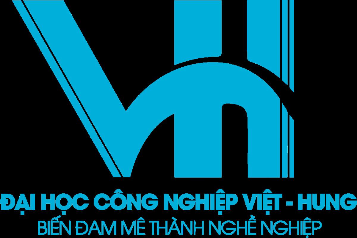 Logo DH Cong Nghiep Viet Hung