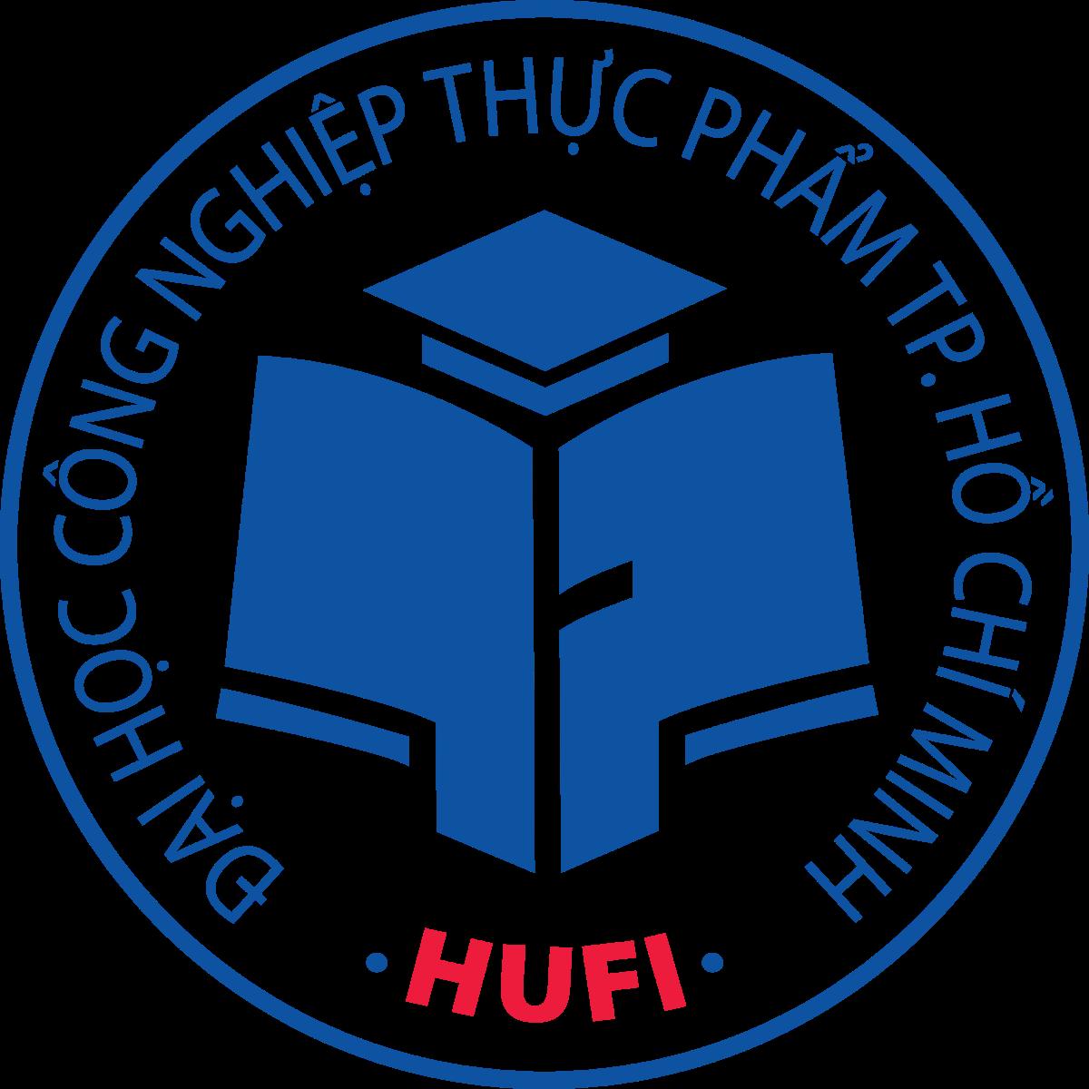 Logo DH Cong nghiep Thuc pham Thanh pho Ho Chi Minh