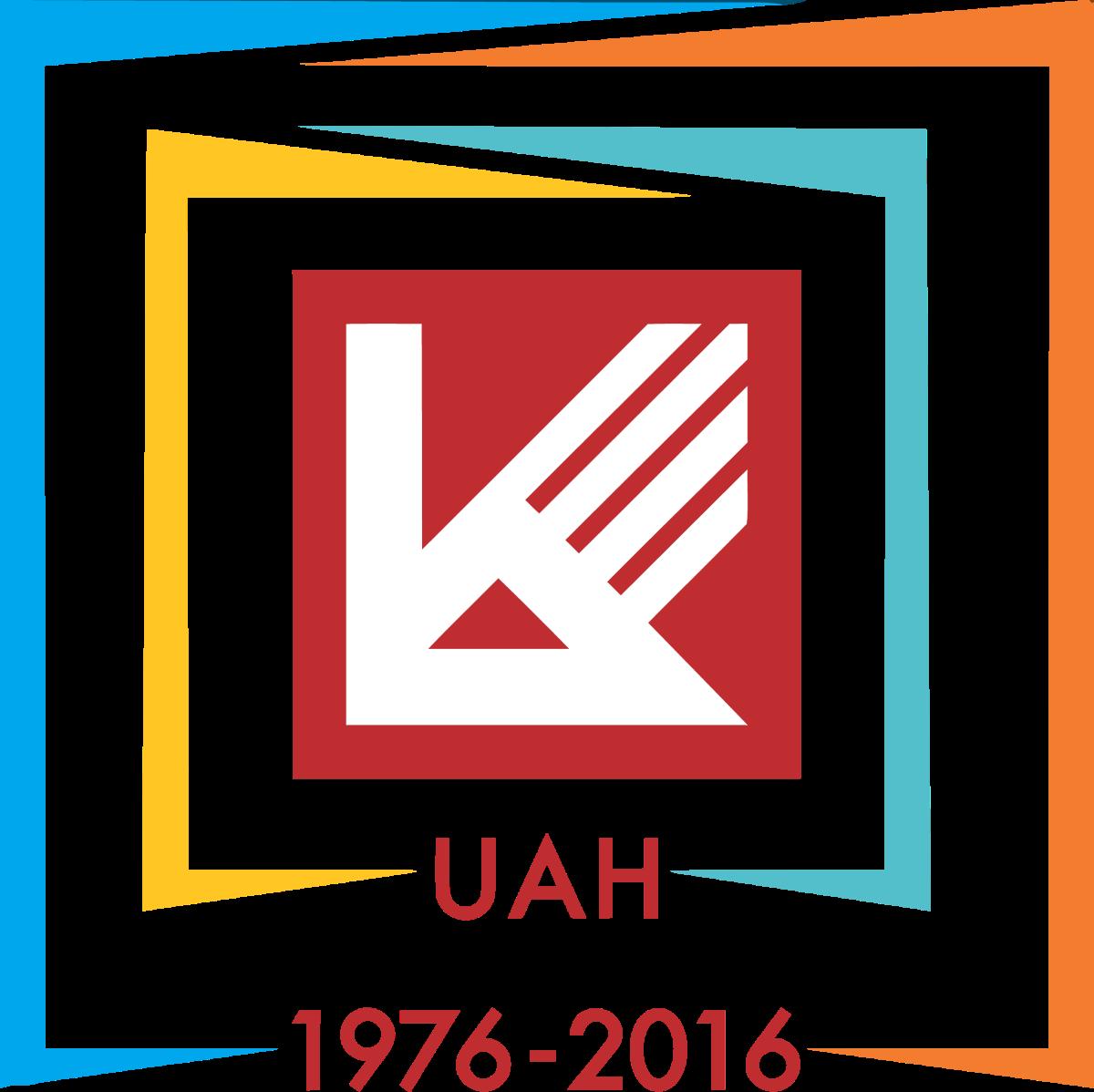 Logo DH Kien Truc TPHCM UAH 40th