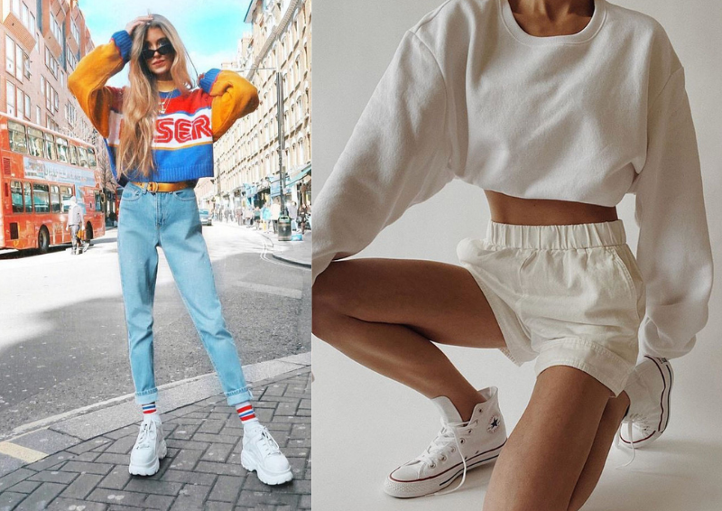 ao croptop sporty chic