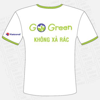 ao thun go green vietravel