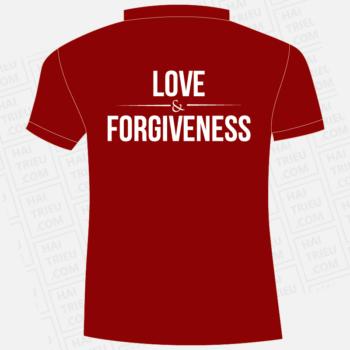 ao thun lop d2 love forgiveness