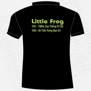 ao thun nhan vien chao ech singapore little frog
