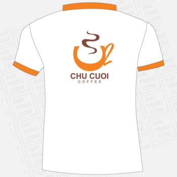ao thun nhan vien chu cuoi coffee