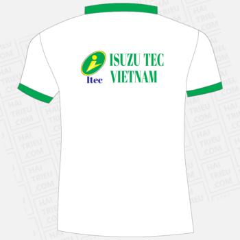ao thun nhan vien isuzu tec vietnam