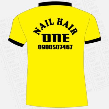 ao thun nhan vien nail hair one