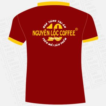 ao thun nhan vien nguyen loc coffee