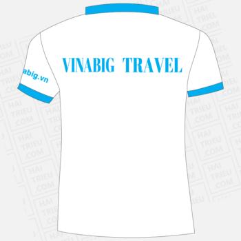 ao thun nhan vien vinabig travel noi cuoc song thang hoa