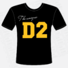 ao thun the unique d2 mat truoc